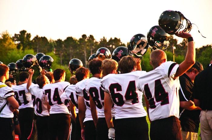 kickoff helmet raise